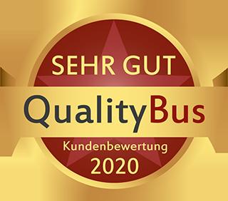 QualityBus Kundenbewertung Sehr Gut